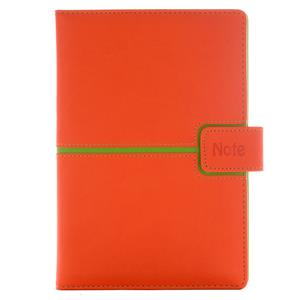 Note MAGNETIC A5 Lined - orange/green