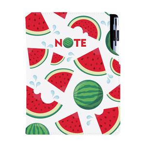 Notes DESIGN B6 Lined - Melon